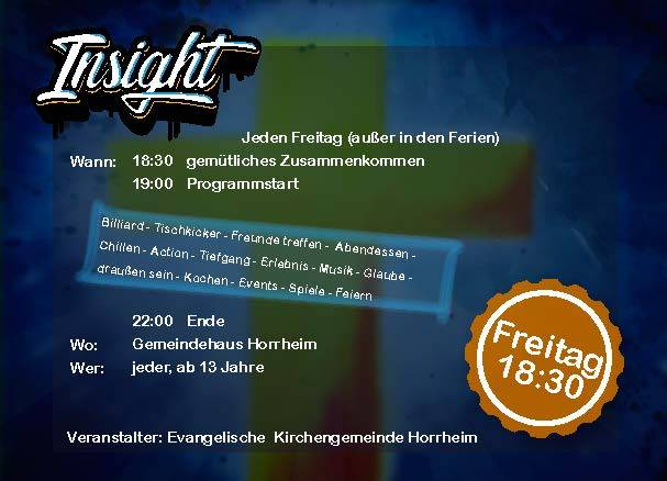 Insight-Der Jugendkreis